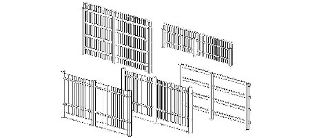 3D Dynamic Fence