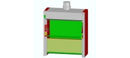 3D Fume Cupboard