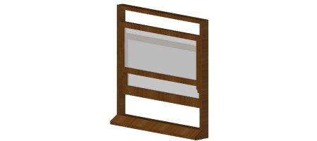 3D dynamic Sash Window