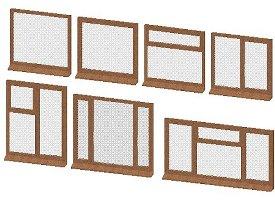 3D dynamic Casement Window
