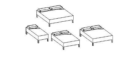 3D dynamic Bed